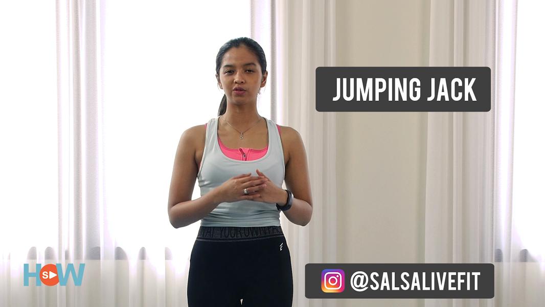 Cara Jumping Jacks Workout